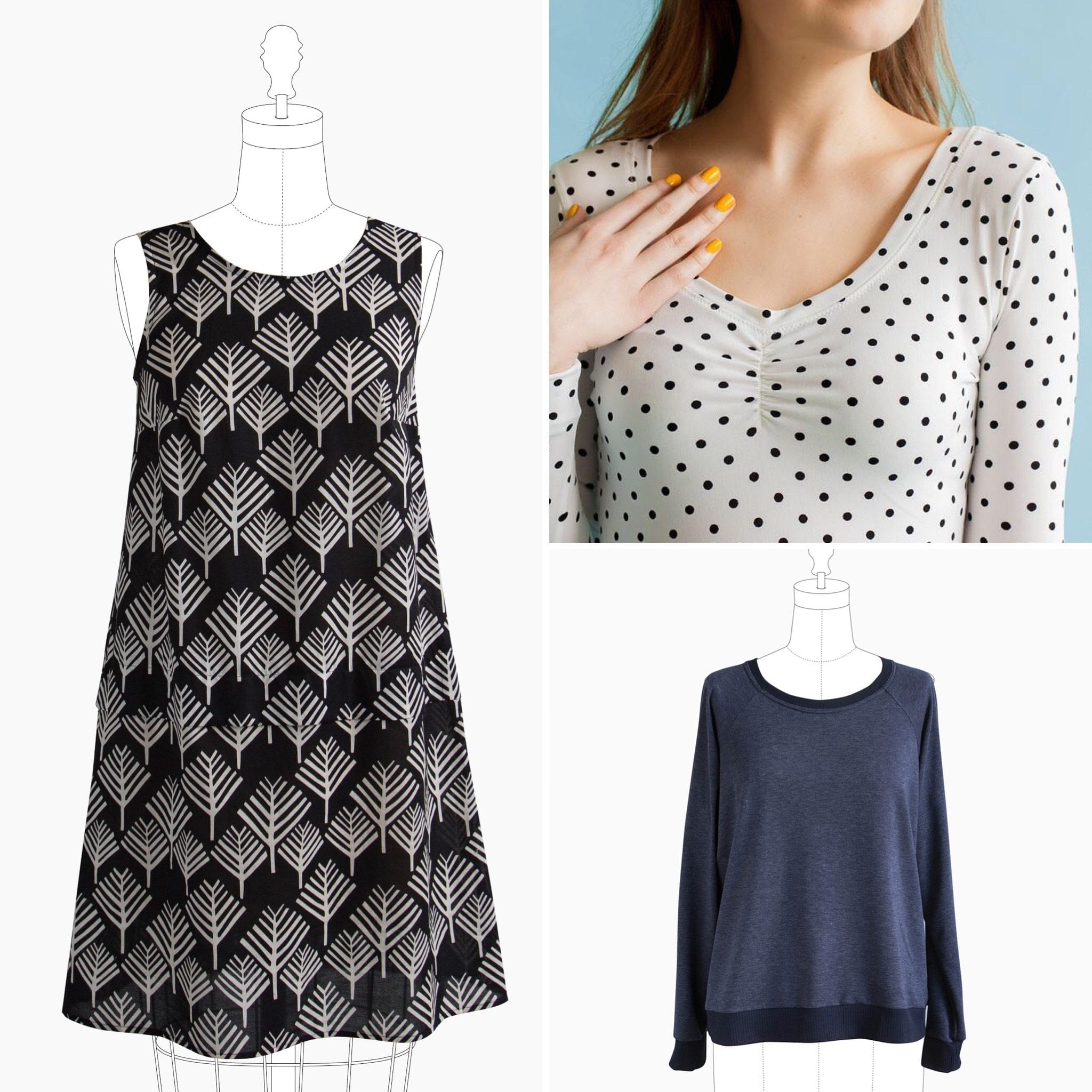Indie sewing patterns - Time to Sew