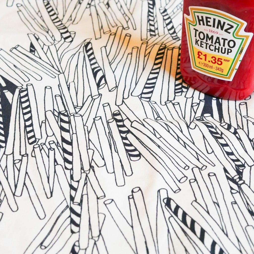 Ketchup straws