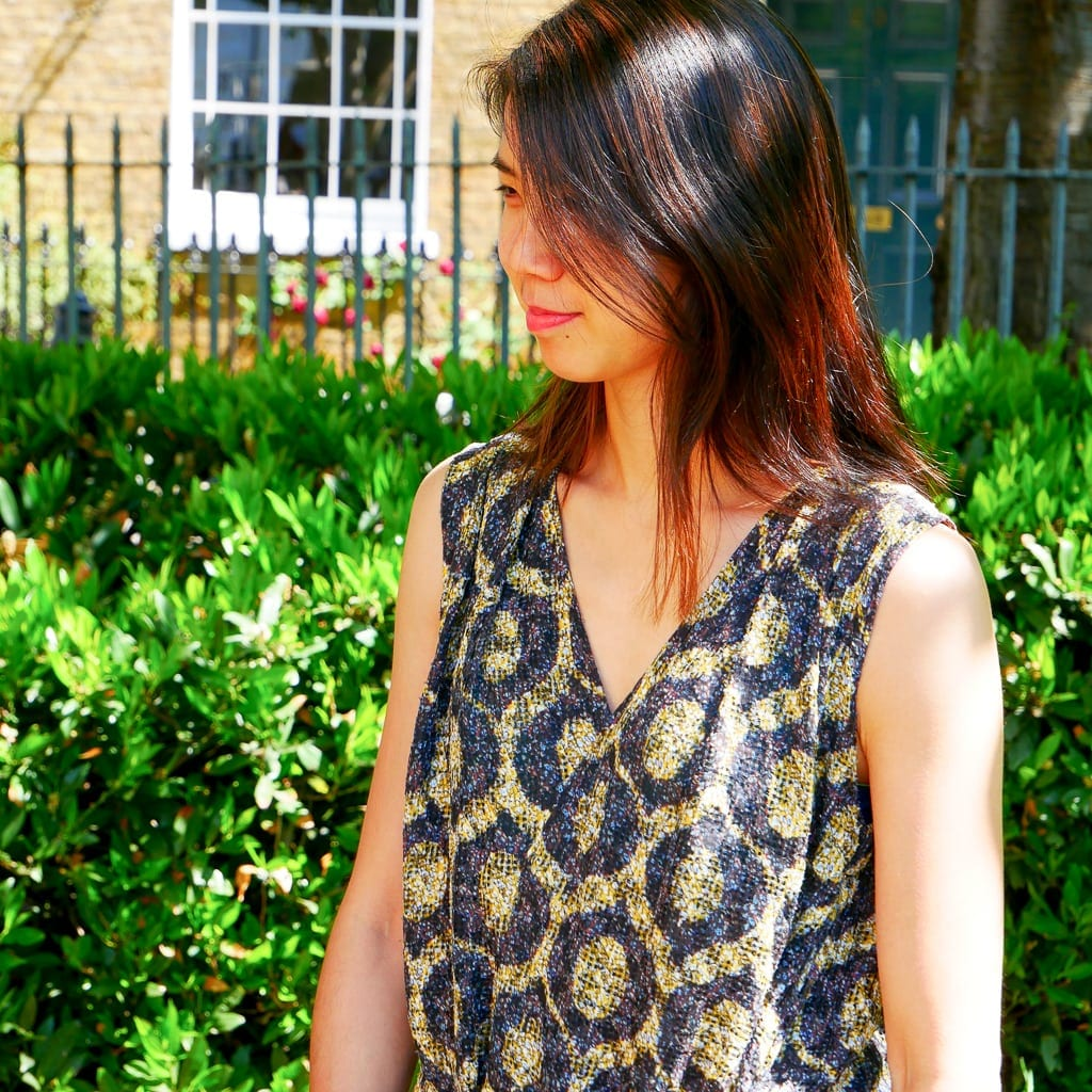 Isabel Marant dress bodice alterations