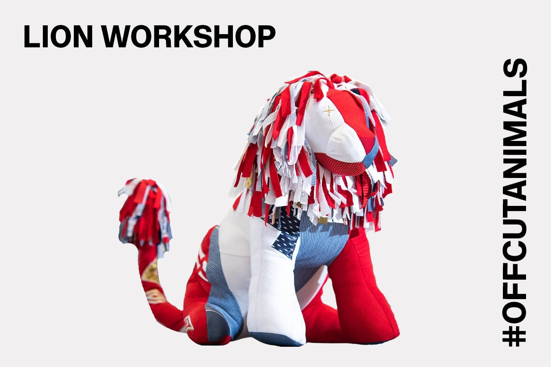 Christopher Raeburn lion workshop