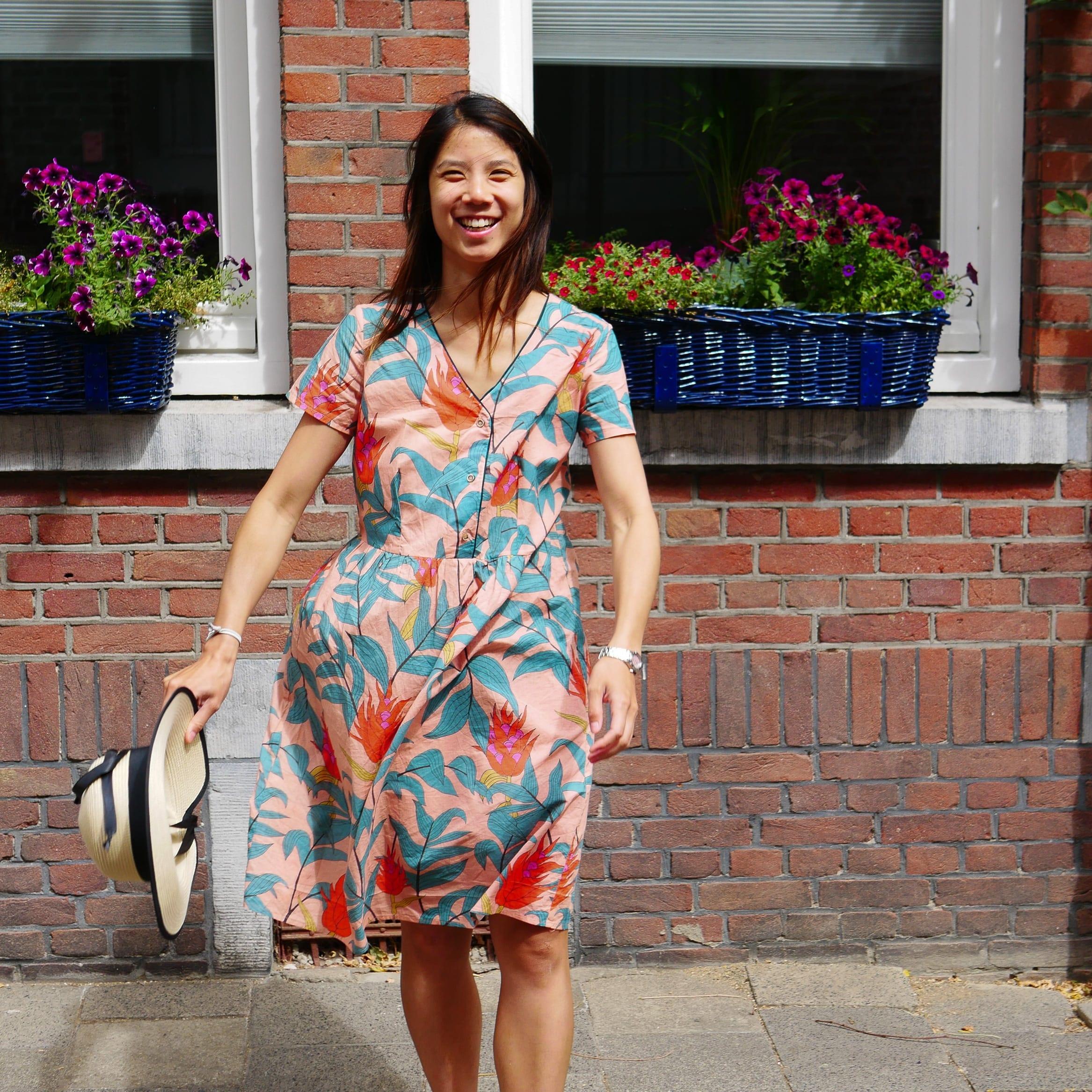 Lady McElroy cotton lawn dress