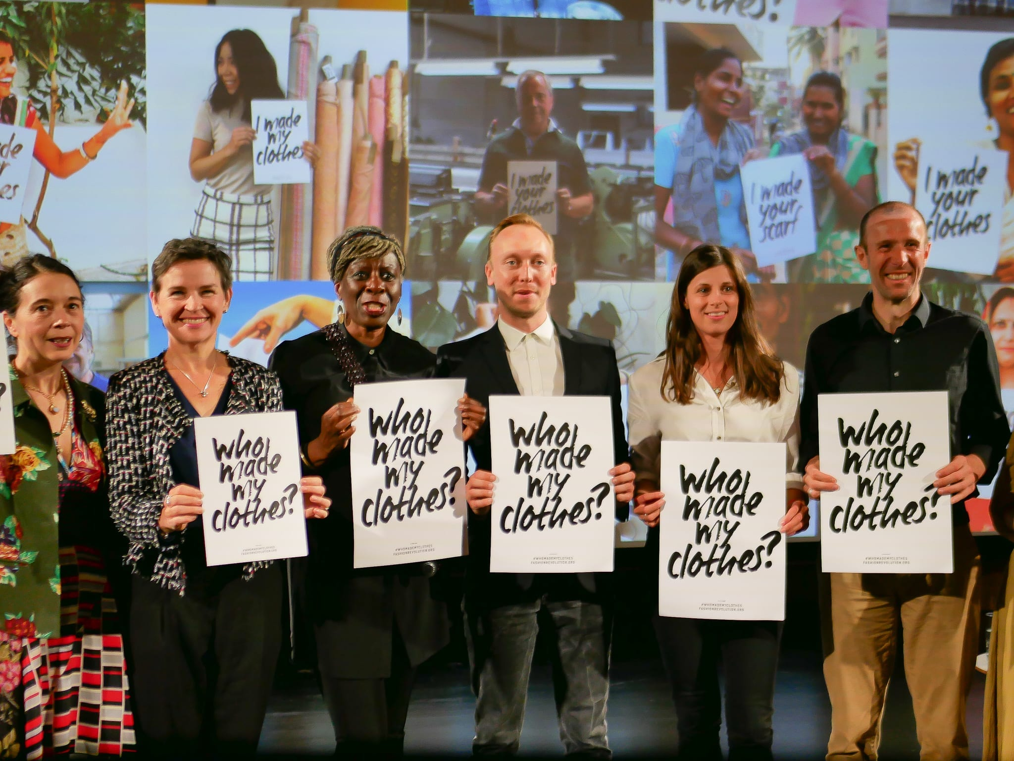 Fashion Revolution panel