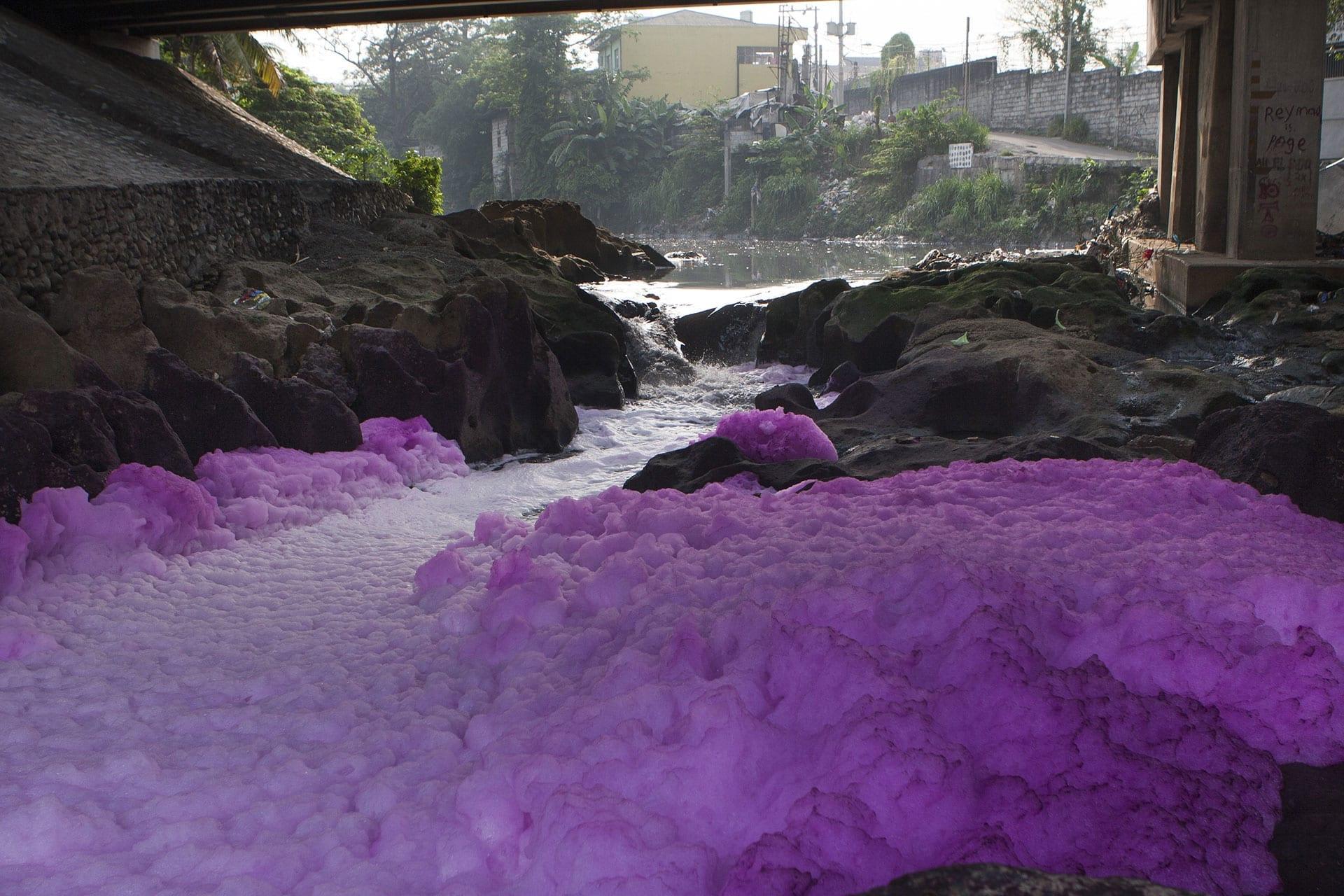Talluhan River effluent