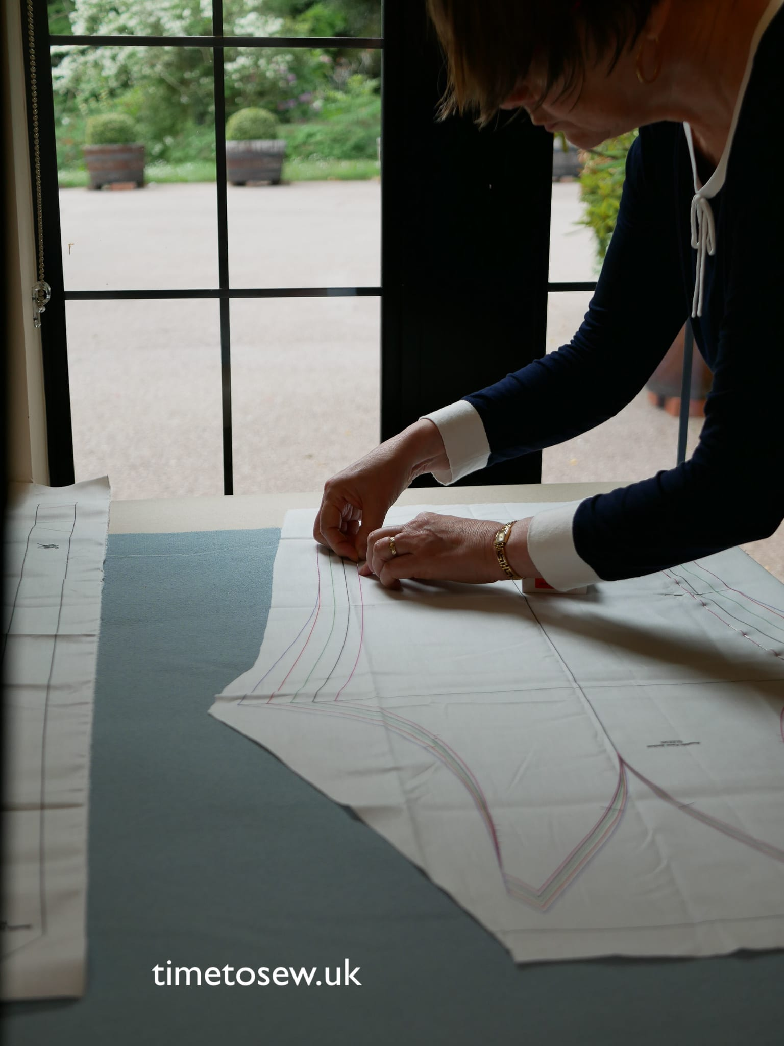 Pinning and thread tracing