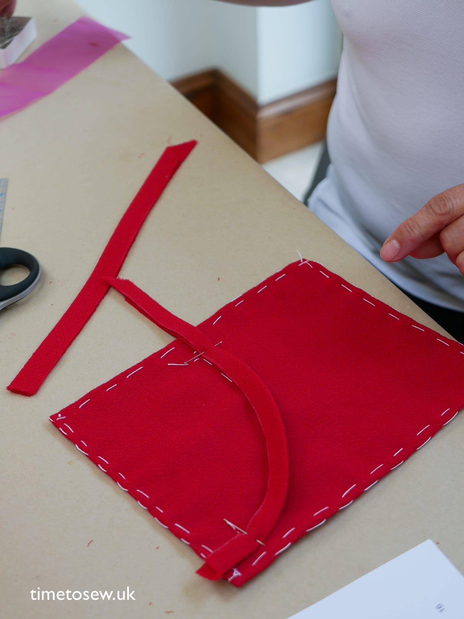 couture jacket welt pocket demo