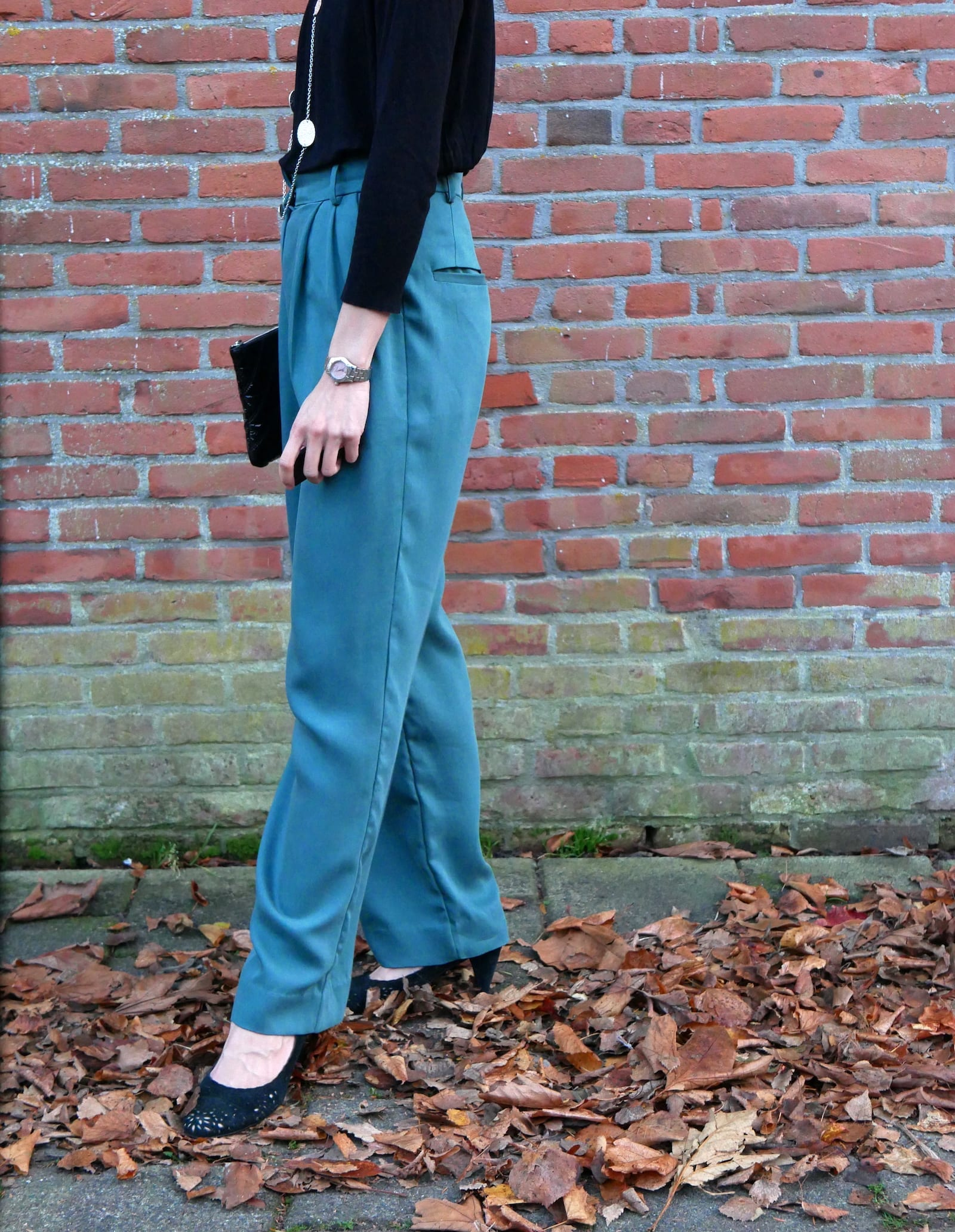 Just Patterns Tatjana trousers by Time to Sew - side view