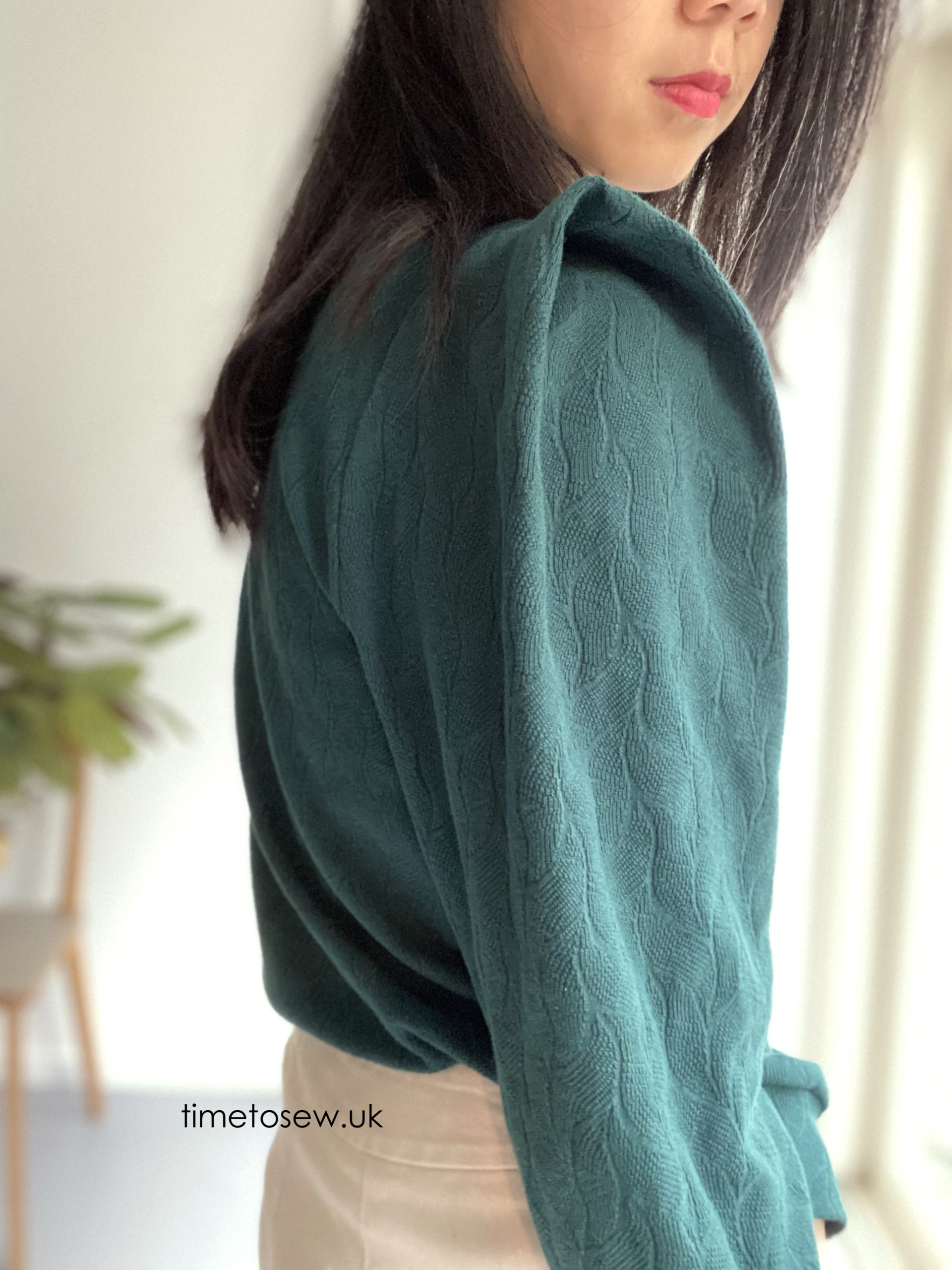 Back shoulder of Fibre Mood Clemence